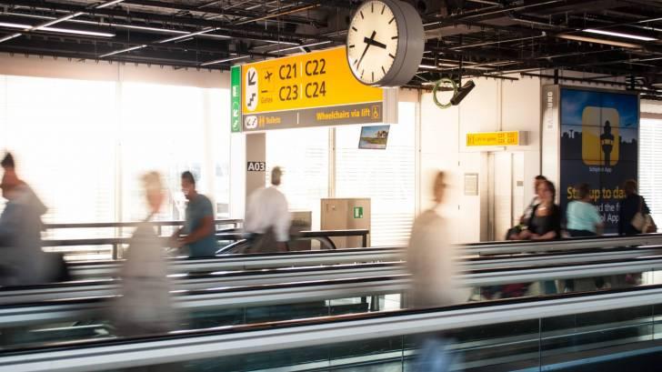 international airport travel