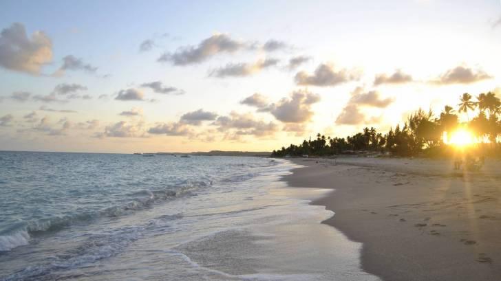 brazil beach at sunrise