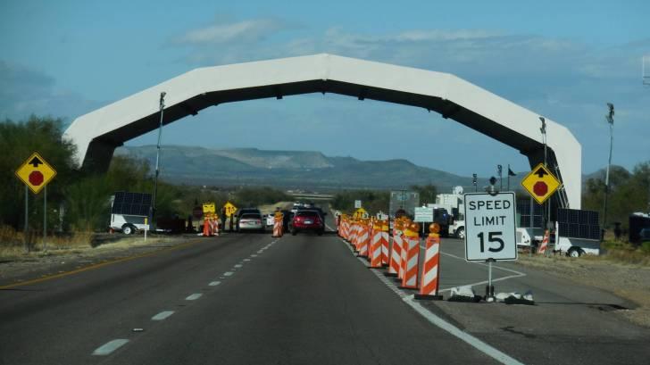 border patrol check point