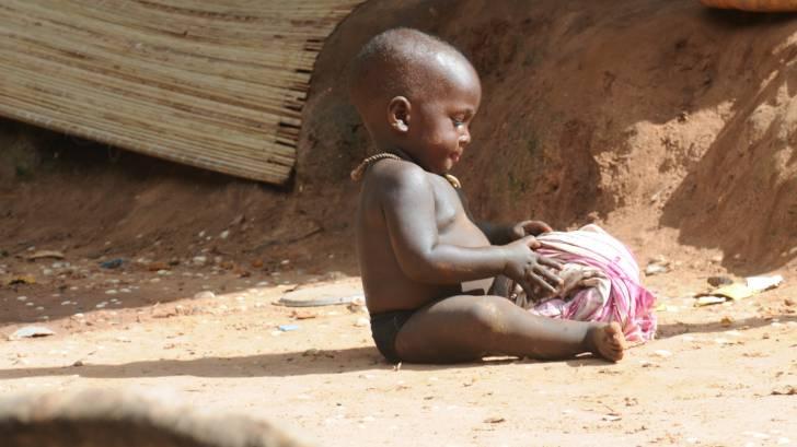 little boy africa