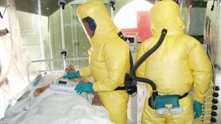 ebola tent isolation