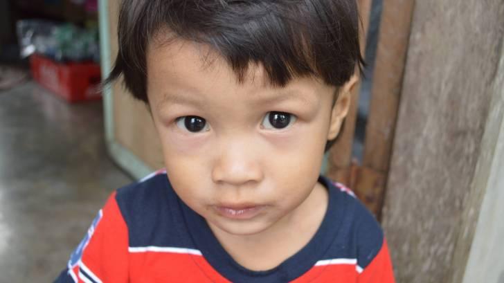 little filipino boy