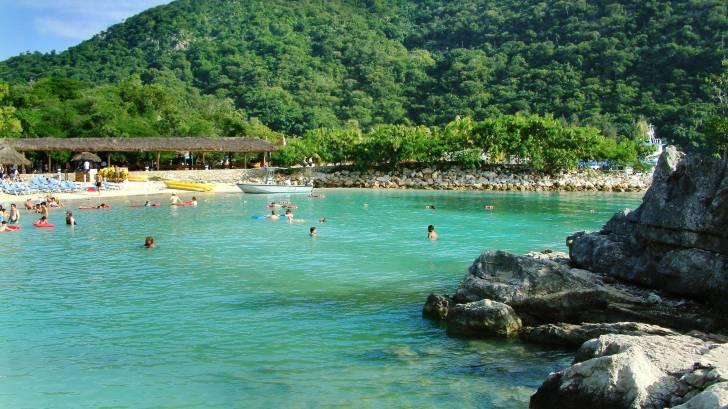 Haiti beach and coast line