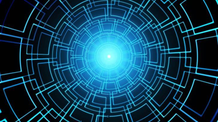 Artificial intelligence blue screen
