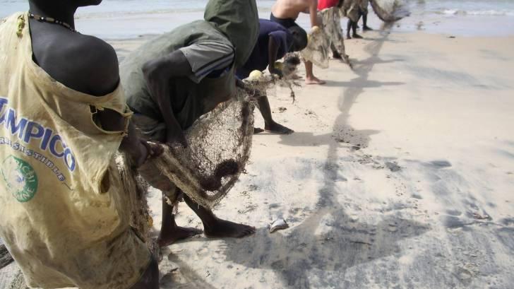 Senegal fishermen