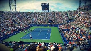 us open stadiium filled with fans
