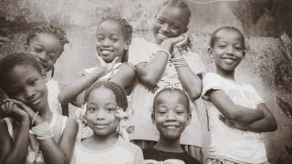 african children happy and healthy