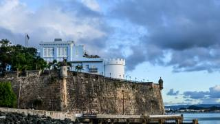 puerto rico fort on the water