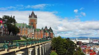 frontenac castle in Quebec