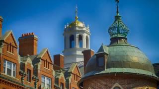Harvard campus building