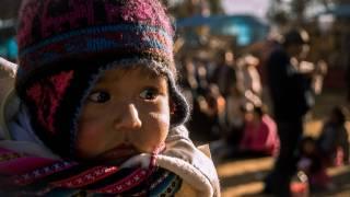 peruvian little boy