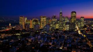 san fransico at night